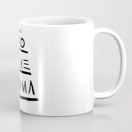 Basquiat No More Drama Coffee Mug