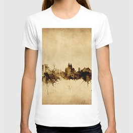 Liverpool England Skyline T-shirt