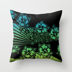 Hawaii Five-O Dark Throw Pillow