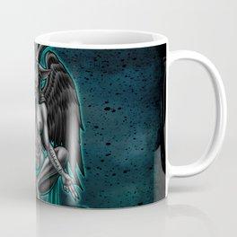 Baphomet (Teal) Coffee Mug