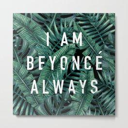 I Am Always - the Office (Palm Print) Metal Print