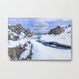ICELAND Thingvellir Nationalpark Metal Print