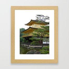 Kinkaku-ji Golden Pavilion Framed Art Print