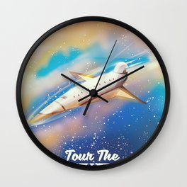 TOUR THE UNIVERSE Wall Clock