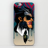karl lagerfeld iPhone & iPod Skins featuring wolvereen  vs Karl Lagerfeld  by el brujo