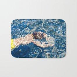 Underwater diffraction Bath Mat