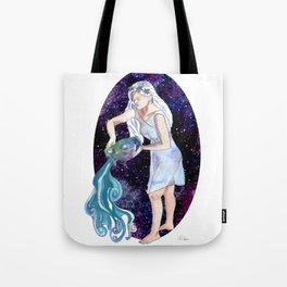 Aquarius the Water Bearer Tote Bag