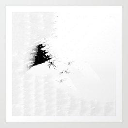 Paper Webbing Art Print