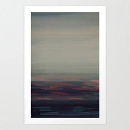Glitched v.1 Art Print