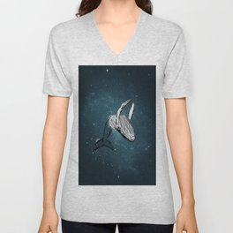 the universe wall Unisex V-Neck