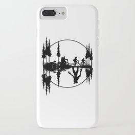 Upside down, Steve and the gang on bicycles, Stranger thing gift iPhone Case