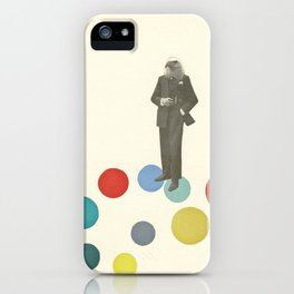 Bird Man iPhone Case