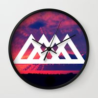 angels Wall Clocks featuring Angels by ATWA