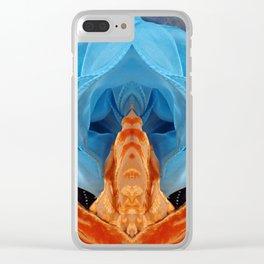 104 Alien Queen Clear iPhone Case