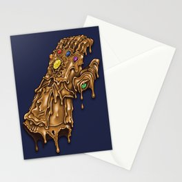 Melted Infinity Gauntlet Stationery Cards