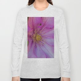 Clamatis Flower Long Sleeve T-shirt