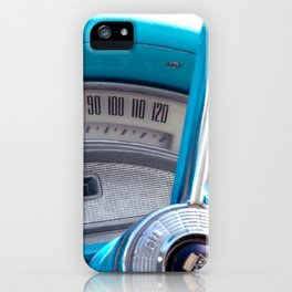 The blue steering wheel iPhone Case