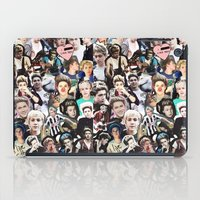 niall horan iPad Cases featuring Niall Horan - Collage by Pepe the frog