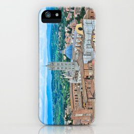 Siena, Italy - from above III iPhone Case