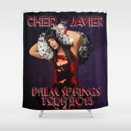 Ch*r-Javier Palm Springs Tour 2015 Shower Curtain