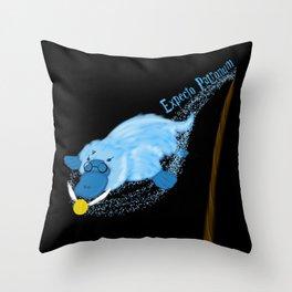 Expecto Patronum Platypus  Throw Pillow