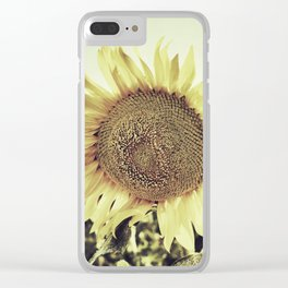 """""""Sunflowers II"""" Vintage dreams Clear iPhone Case"""
