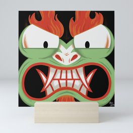 Samurai Jack - AKU Mini Art Print