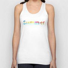Summer Triangles Unisex Tank Top