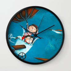 The trip Wall Clock