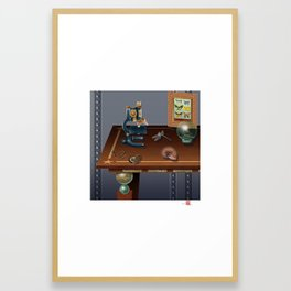 DW-032 Nautilus Dreams-Second State Framed Art Print