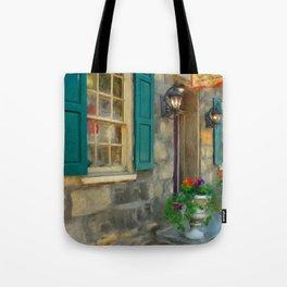 A Victorian Tea Room Tote Bag