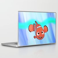 nemo Laptop & iPad Skins featuring Nemo by paulusjart