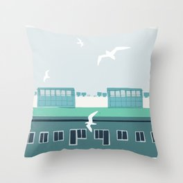 Untitled Spaces Throw Pillow