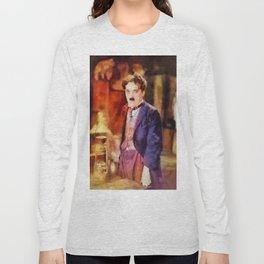 Charlie Chaplin by SK Long Sleeve T-shirt