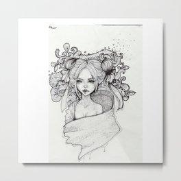 Eurydice  Metal Print