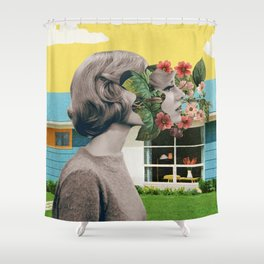 Corn Pone Opinions Shower Curtain