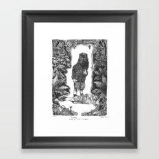 Blinding Framed Art Print