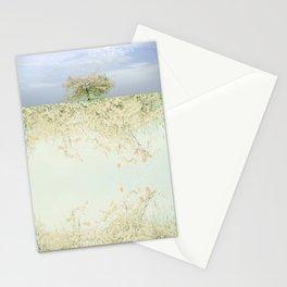 landscape 004c: 藍の空 (indigo sky) Stationery Cards