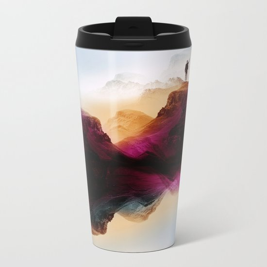 Learning from the past Metal Travel Mug