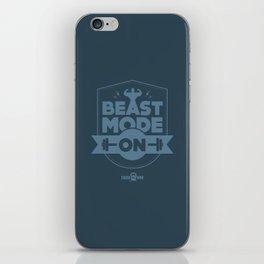 Beast Mode ON iPhone Skin
