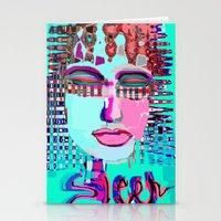 sleep Stationery Cards featuring sleep by sladja