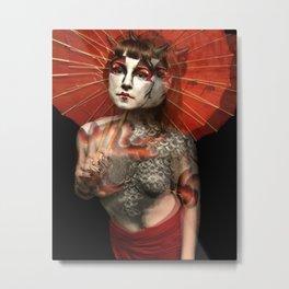 Dragon Goddess Metal Print