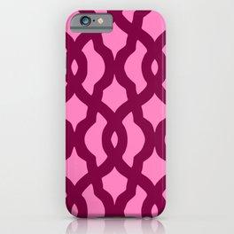 Grille No. 2 -- Magenta iPhone Case
