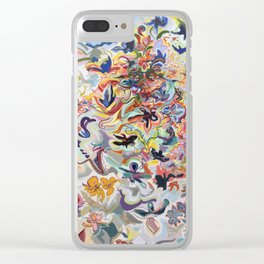 Divine Mother Durga Clear iPhone Case