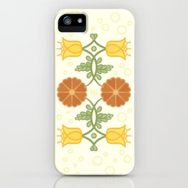 Bells and Blooms iPhone Case
