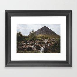 Famous Etive Mor - Landscape and Nature Photography Framed Art Print