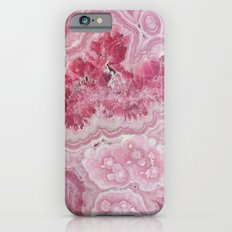 Rose Quartz Gem iPhone 6s Slim Case