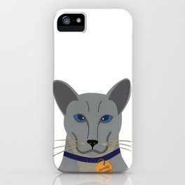 Cheeky Siamese Cat iPhone Case