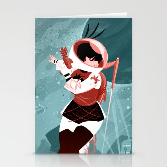 Kickass Annie Stationery Cards