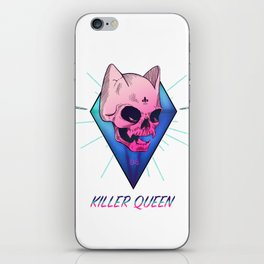 Killer Queen iPhone Skin